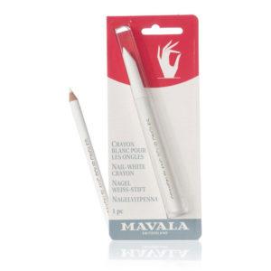Crayon blanc matita bianca per unghie