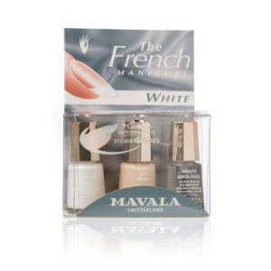 Kit French Manicure White