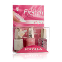 Kit French manicure pink