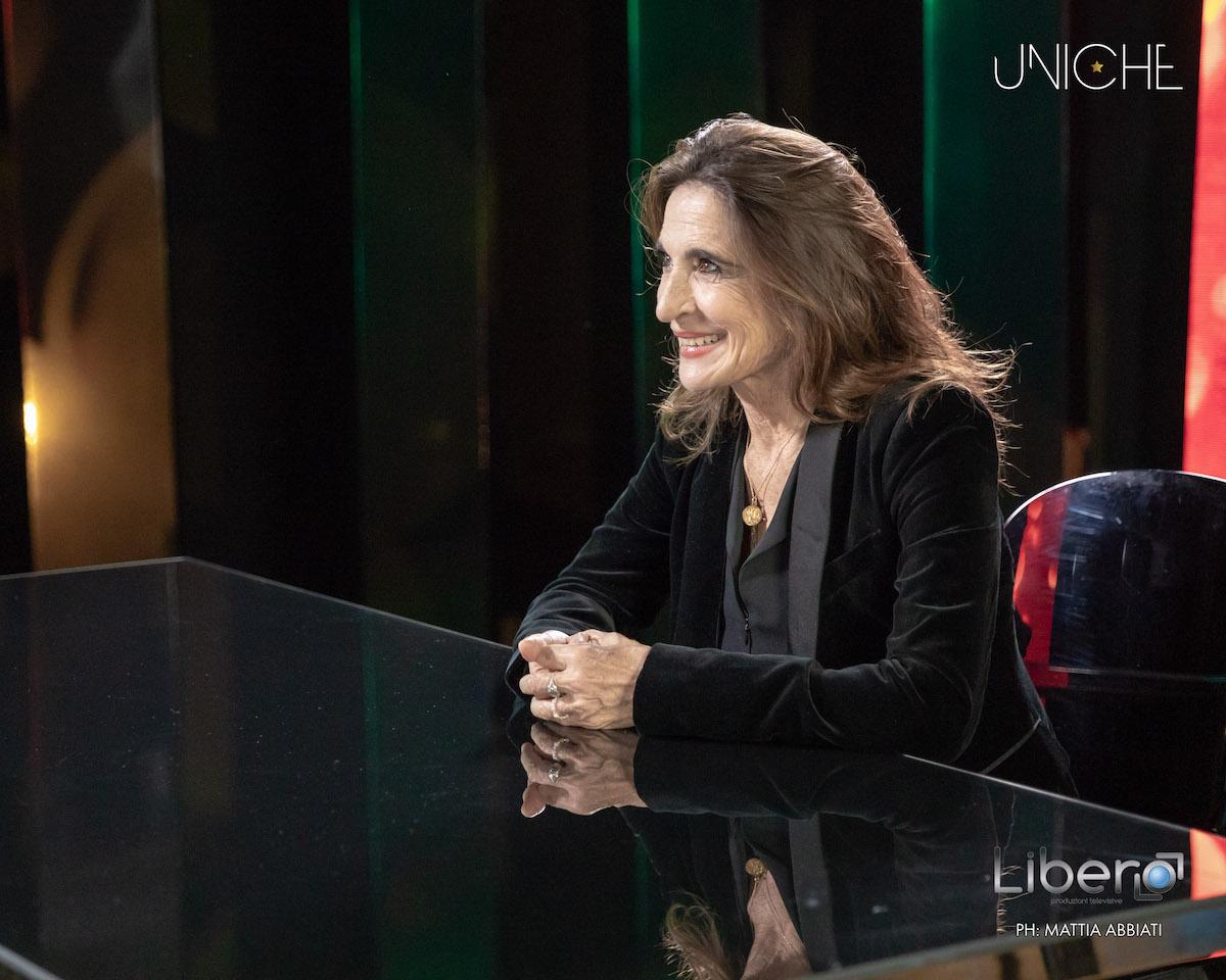 Lina Sastri per la rubrica Per essere Uniche su RaiPremium