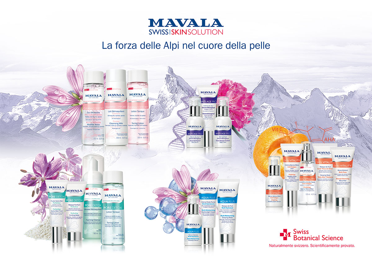 Swiss Skin Solution gamma prodotti e ingredienti