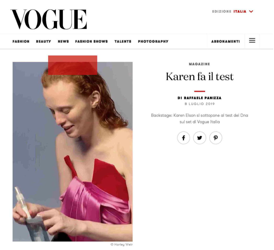 Mavala su Vogue.it