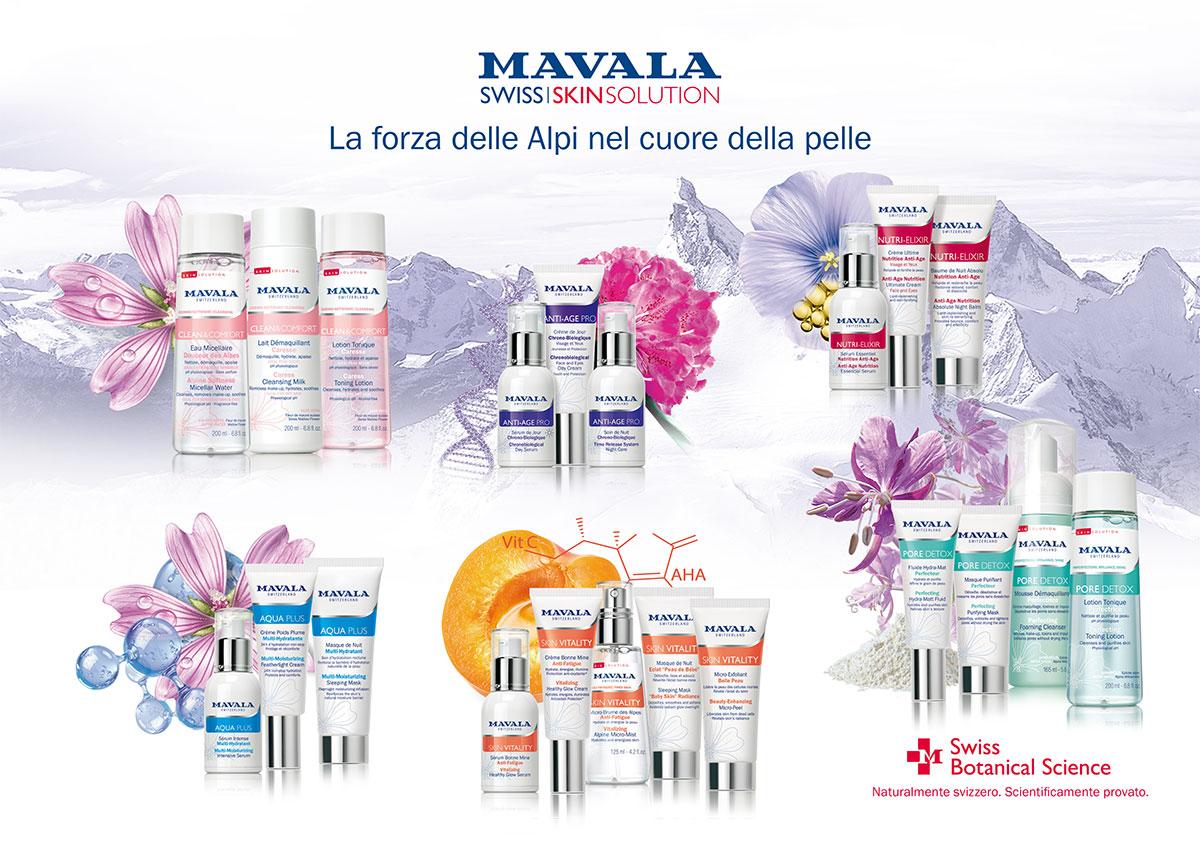 Swiss Skin Solution gamma prodotti e ingredienti 2019