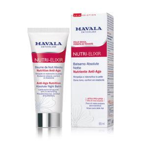 Balsamo Absolute Notte Anti-Age linea Nutri Elixir di Mavala SwissSkin